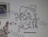 3D Wandschmuck