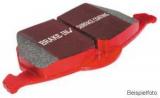 Bremsbeläge Typ Redstuff, EBC Nr.: DP31574C, Ford Focus MK2, Mazda, Opel, Saab, Vauxhall, Volvo