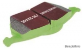Bremsbeläge Typ Greenstuff, EBC Nr. DP21641, Ford Focus ST170