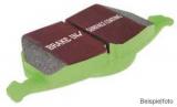 Bremsbeläge Typ Greenstuff, EBC Nr. DP22002, Ford Fiesta MK7
