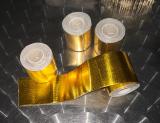 Wärmestrahlungsschutz Hitzeschutzband Gold 5cm x 5m